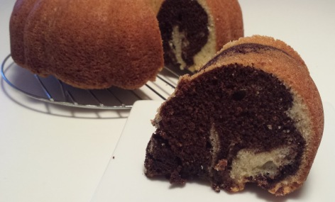 Coffee Marble Bundt Cake Scratch My Baking