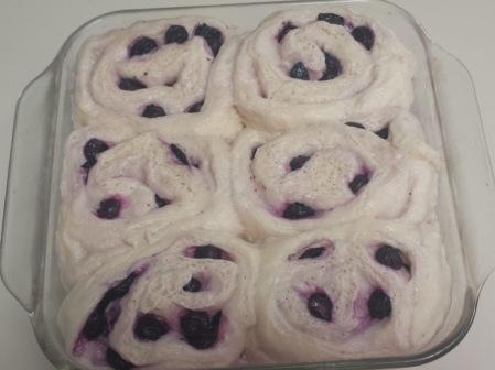 Blueberry Rolls