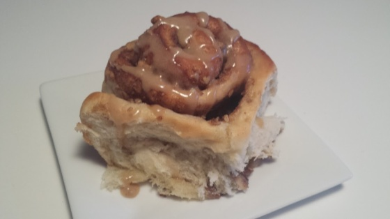 Walnut Cinnamon Bun