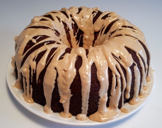 Peanut Butter Chocolate Bundt Cake 2