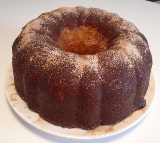 Churro Bundt Cake