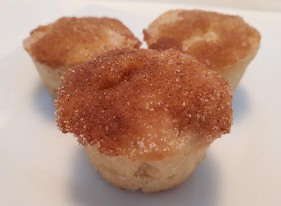 Mini Applesauce Muffins